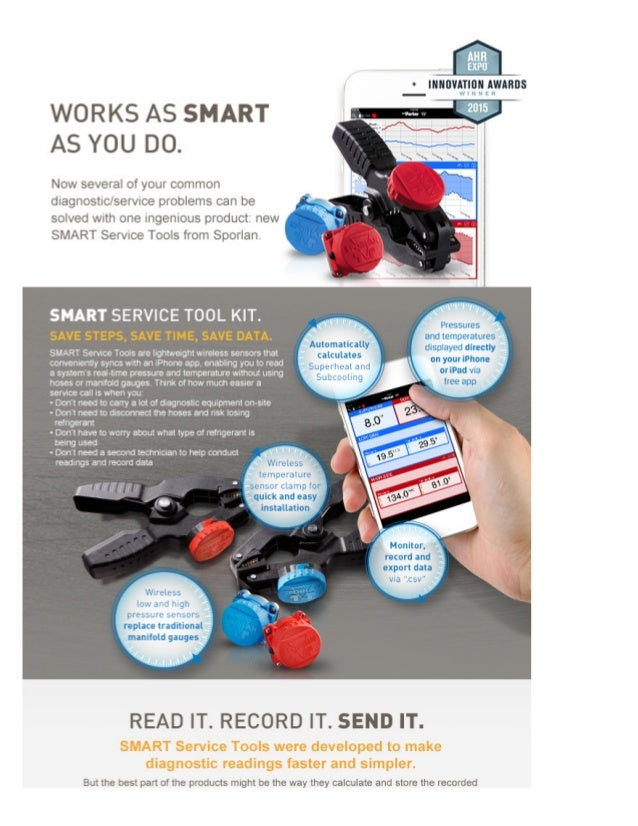 EXPU  ° INNOVATION AWARDS  — WINNER  WORKS AS SMART AS YOU DO.   Now several of your common  diagnostic/ service problems ...