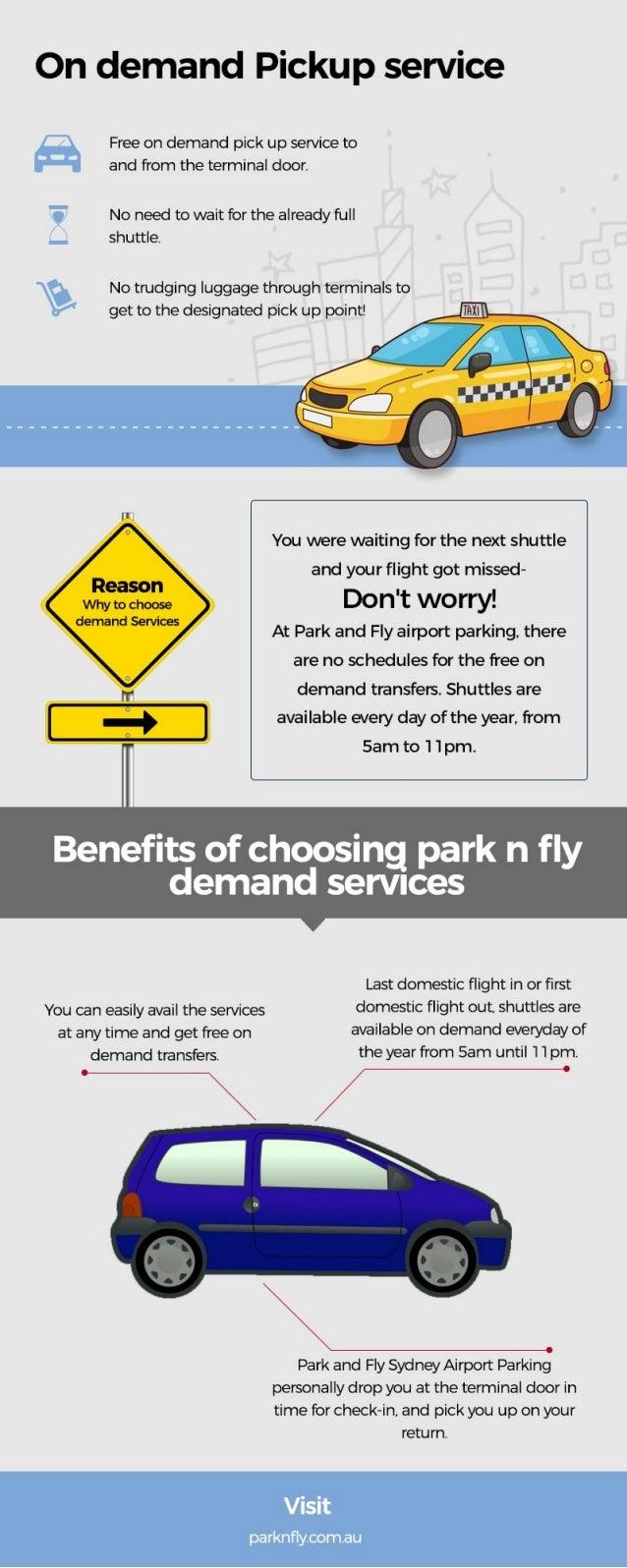 Park & Fly on demand pick up service