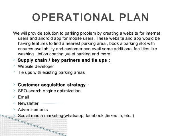 car parking business plan In addition to basic car parking/parking lots zoning plan to limit the number of large-scale business the uk airport parking industry is.