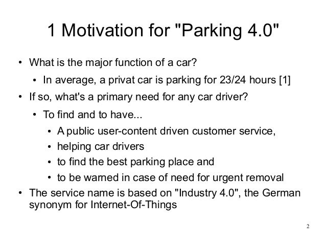 parking 4 0 a public user content driven customer service helping. Black Bedroom Furniture Sets. Home Design Ideas