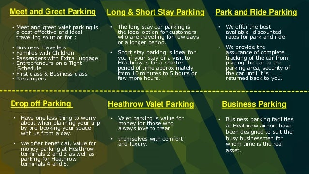 Heathrow airport car parking infographic heathrow valet parking m4hsunfo