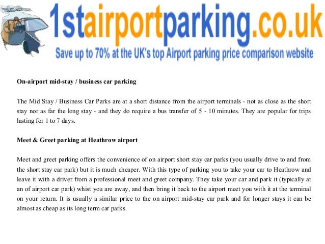 Parking at heathrow airport 3 m4hsunfo