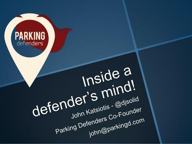 2nd OpenCoffee Cyprus 04/07/2012 - Parking Defenders