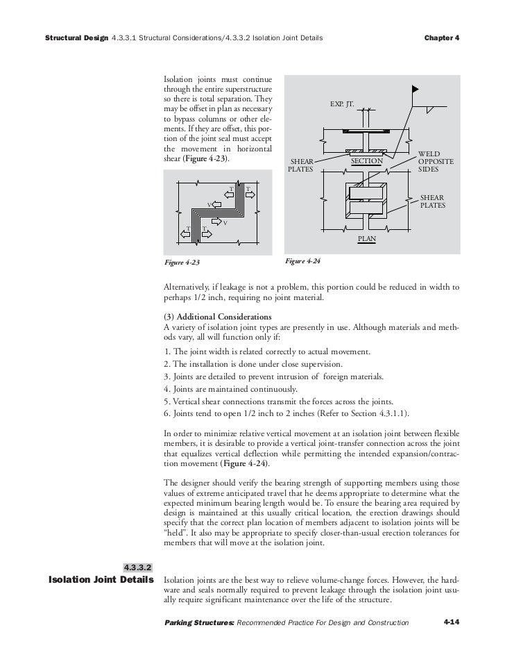 Parking Structures Recommended Practices for Design and Construction