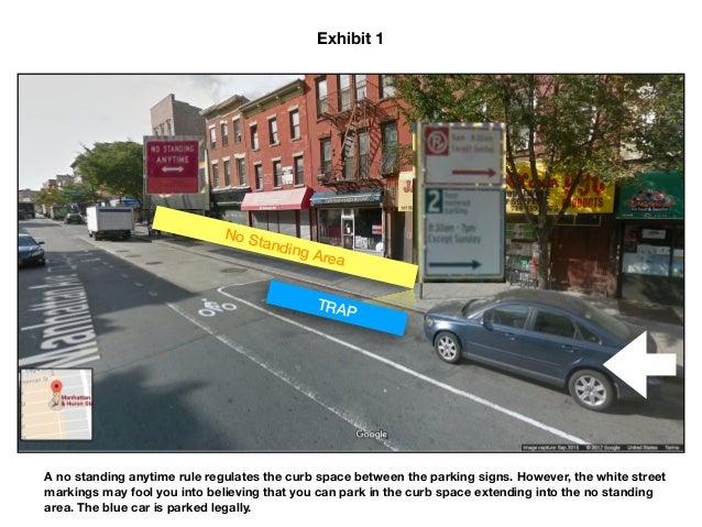 Parking ticket trap in Brooklyn, NY