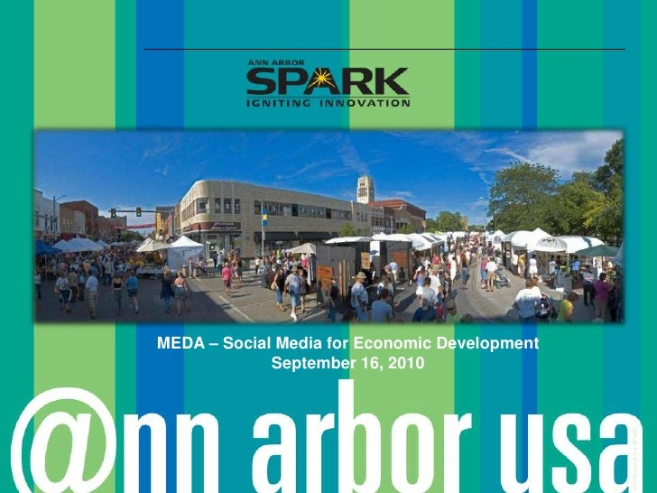 MEDA – Social Media for Economic Development<br />September 16, 2010<br />
