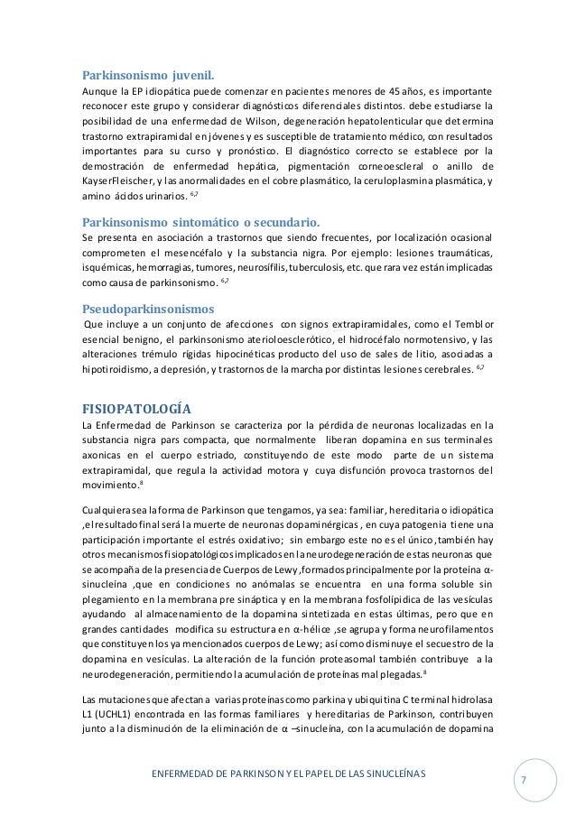 Fisiopatologia Parkinson