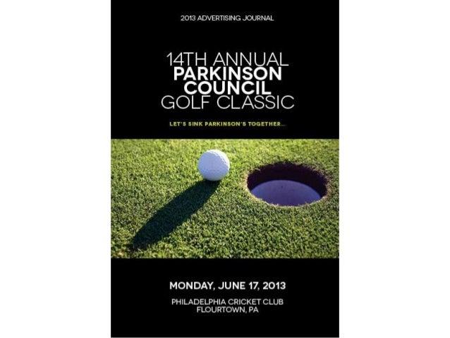 Parkinson golf classic_2013_ad_book