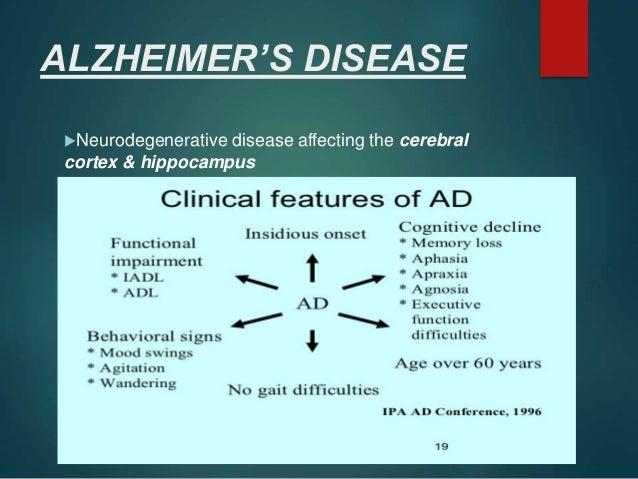 treatment of alzheimers disease