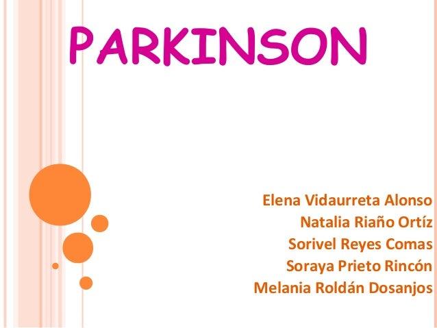 Enfermedad de Parkinson  Natalia