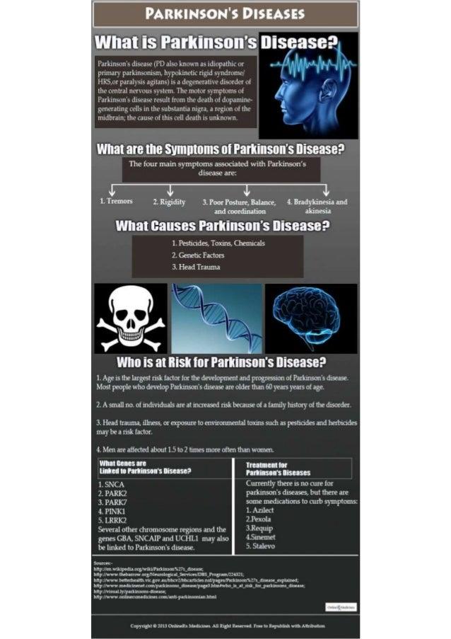 Parkinsons disease-infographic