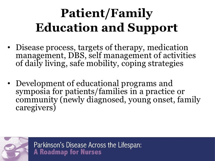 development of parkinsons disease research Career development awards  more information about parkinson's disease research is available at:  michael j fox foundation for parkinson's research.