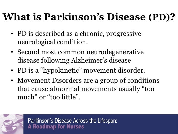 Hypokinetic movement disorders idiopathic parkinsons disease ipd