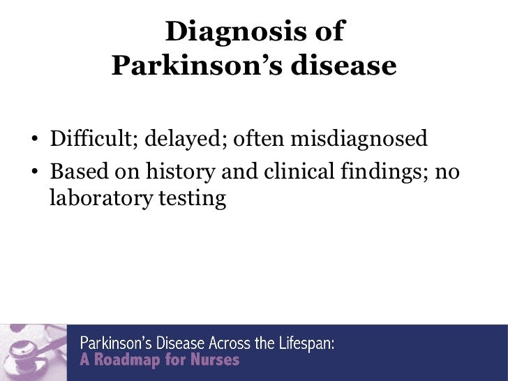 an analysis of parkinsons disease Parkinson's disease is a progressive condition that is characterized by bradykinesia  (parkinson's disease) - forecast and market analysis to 2022.