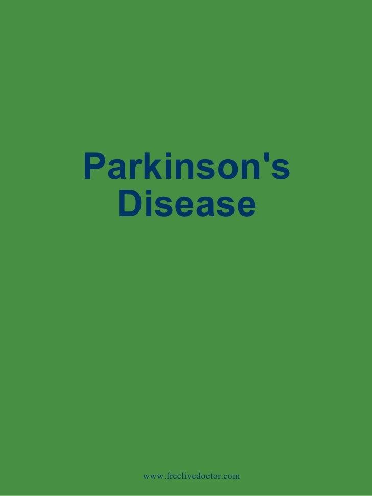 Parkinson's Disease www.freelivedoctor.com