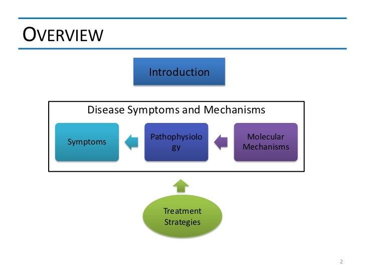 OVERVIEW                  Introduction        Disease Symptoms and Mechanisms                  Pathophysiolo    Molecular ...