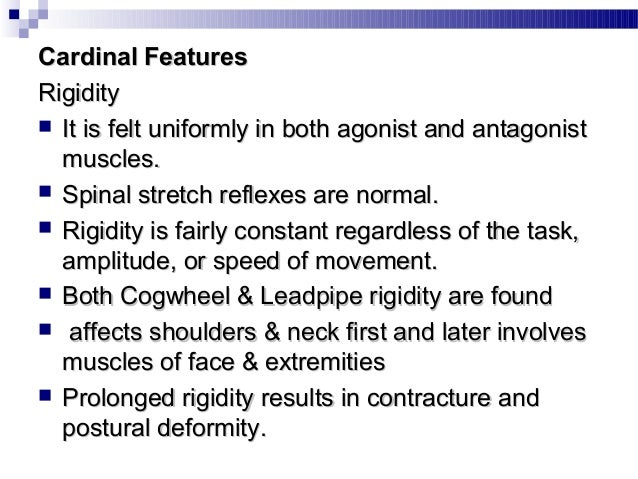 Postural Instability:Postural Instability:  Postural instability is rare in early years until 5 yearsPostural instability...