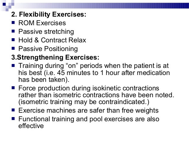Locomotor Training:Locomotor Training:  Patients with PD combined use of harness and treadmillPatients with PD combined u...