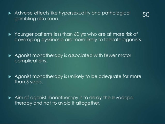 Parkinson Hypersexualität