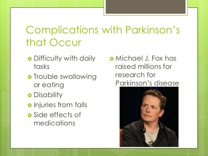 Parkinson S Disease And Exercise
