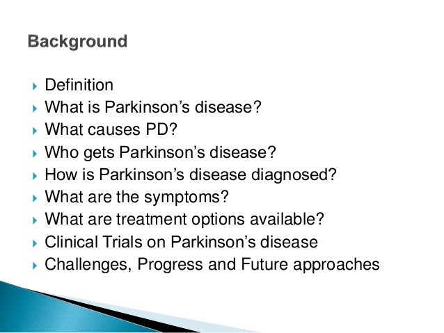 Parkinson S Disease Clinical Research Challenges And Best