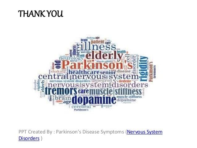 Parkinson's Disease Sign And Symptoms