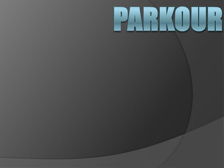 parkour<br />