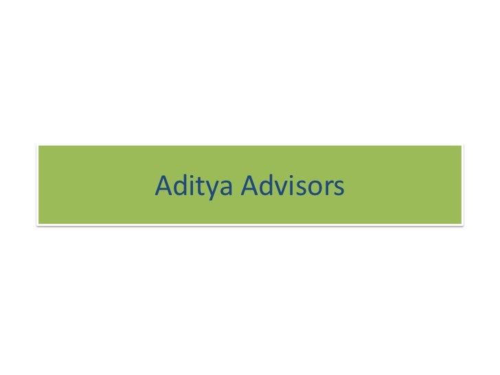 Aditya Advisors<br />