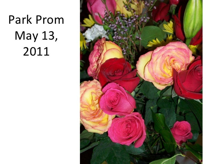 Park Prom May 13, 2011