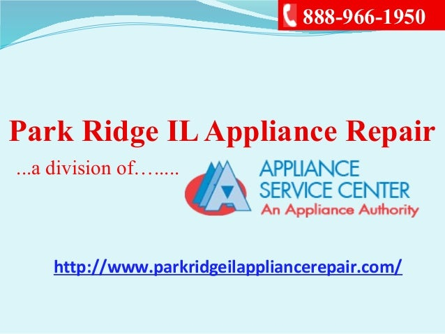 Park Ridge Il Appliance Repair