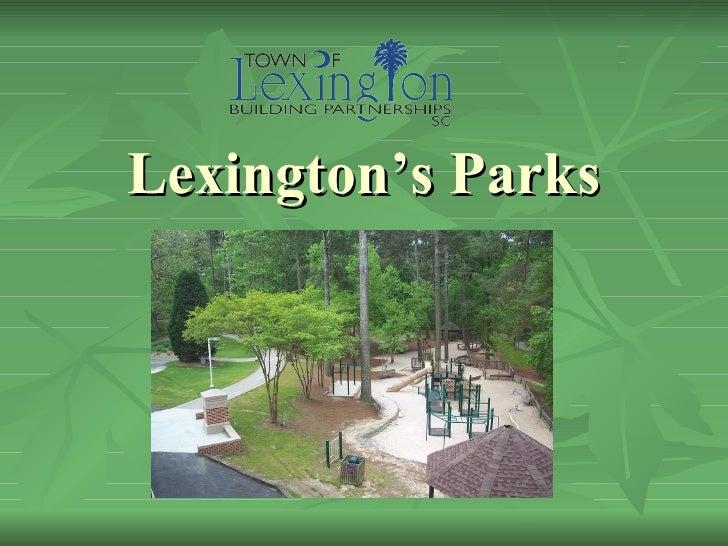 Lexington's Parks