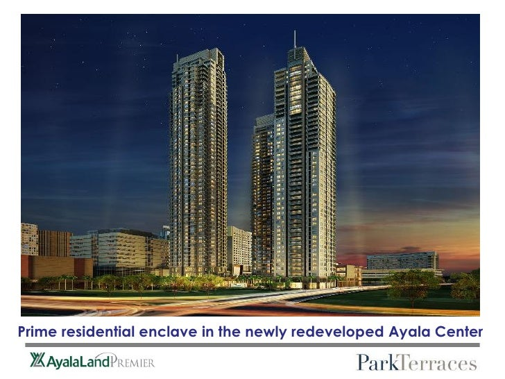 Prime residential enclave in the newly redeveloped Ayala Center