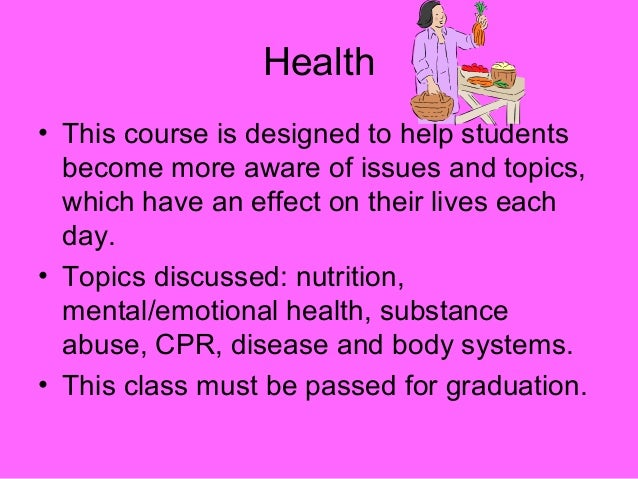 physical education topics