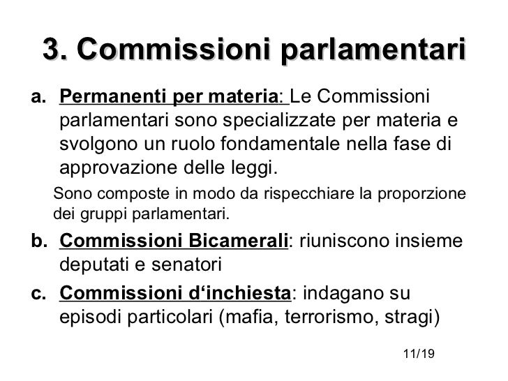 Parlamento parte prima for Camera dei deputati gruppi parlamentari