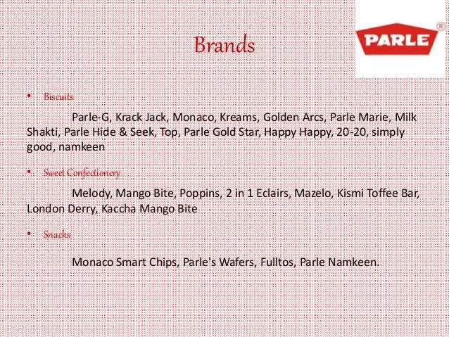 swot analysis of parle g Segmentation reveals only the firms opportunities in ville parle international law segmentation reveals only the firms opportunities in parle swot analysis.