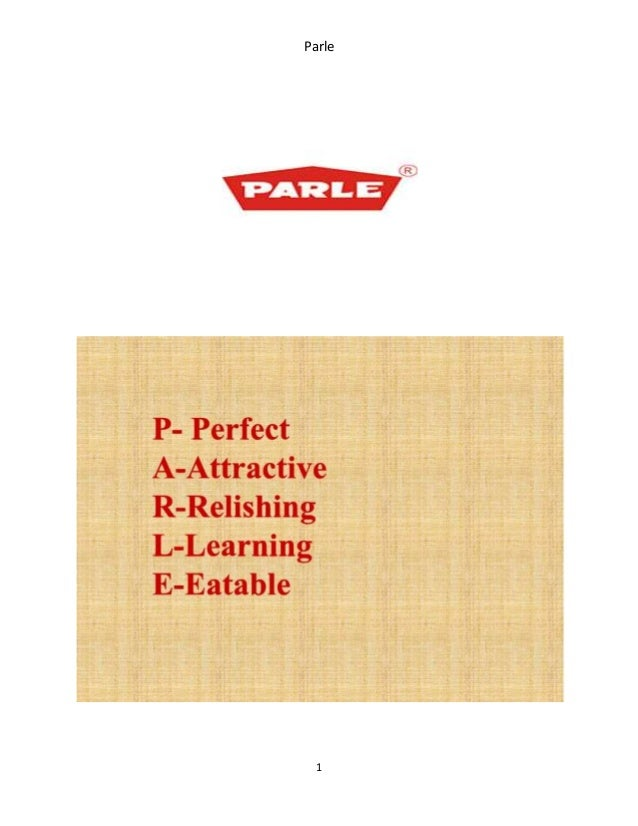 marketing strategy for parle products