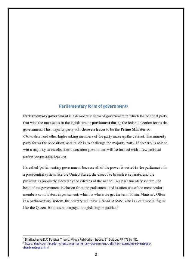 coalition government in india merits and demerits