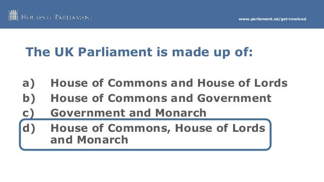 Parliament who makes it up