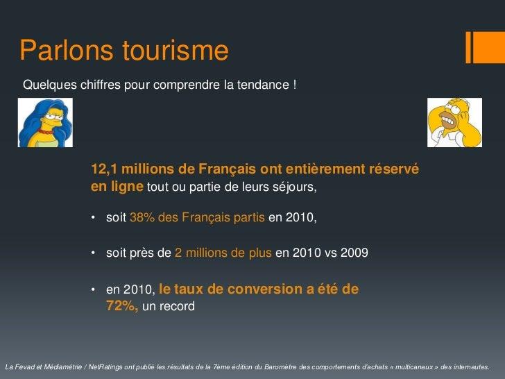 Parlons tourisme     Quelques chiffres pour comprendre la tendance !                          12,1 millions de Français on...