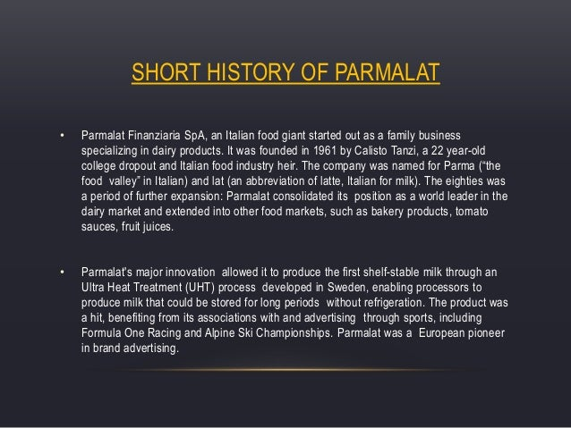 the parmalt scandal Parmalat, which has food operations around the world, revealed last friday it had a hole in its accounts of almost 4 billion euros ($49 billion), making it the biggest european corporate scandal.