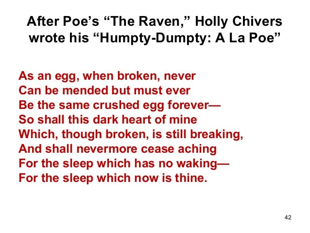 parody of the raven Since the poetic parodies thread was silenced by a lock and key i put this finished piece in here for all sciforumers to see it was welcomed once with.