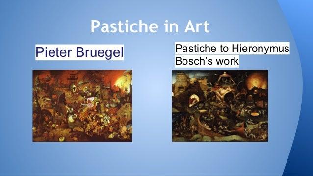 Parody, pastiche and bricolage