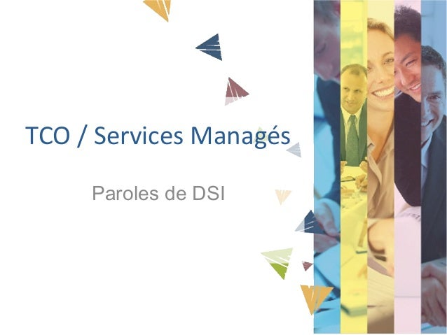 TCO / Services Managés Paroles de DSI