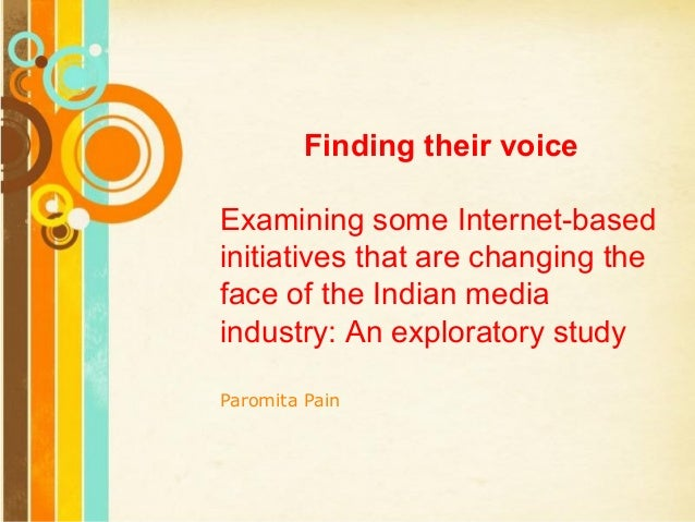 Free Powerpoint Templates Page 1 Free Powerpoint Templates Finding their voice Examining some Internet-based initiatives t...