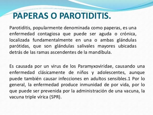 Parotiditis EN PEDIATRIA  Slide 2