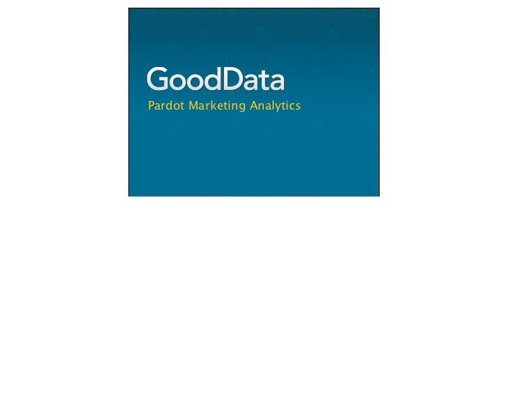 Pardot Marketing Analytics