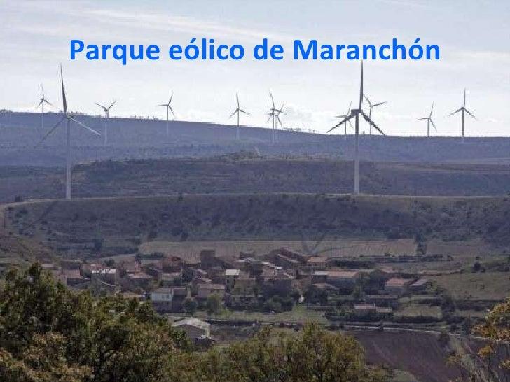 Parque eólico de Maranchón