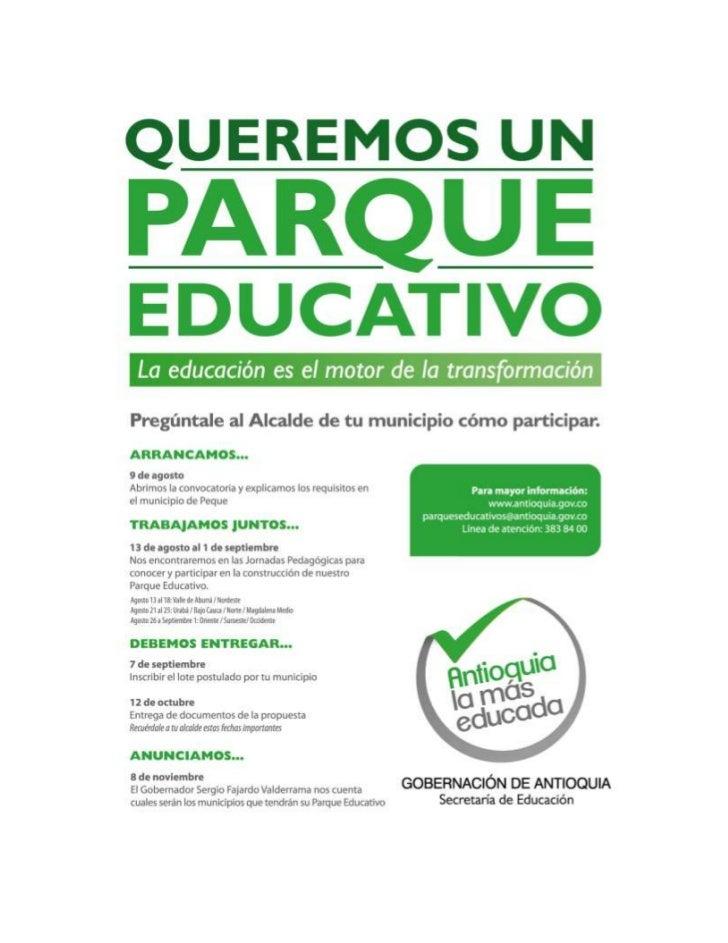 Parque educativo