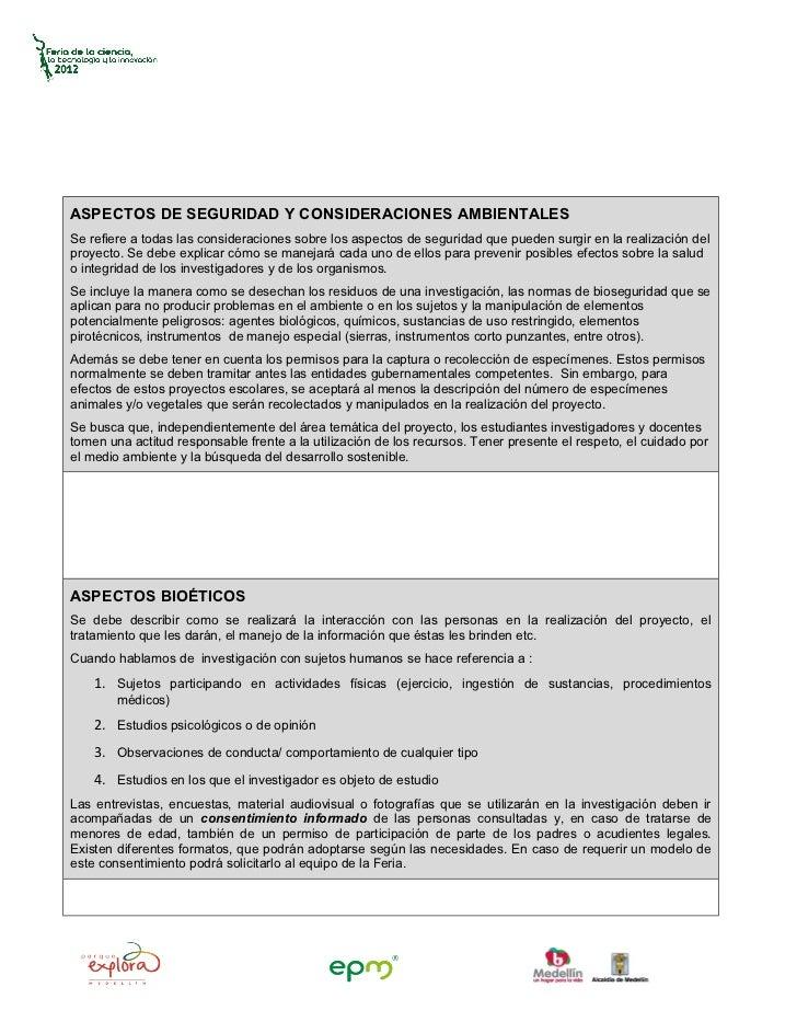 ASPECTOS DE SEGURIDAD Y CONSIDERACIONES AMBIENTALESSe refiere a todas las consideraciones sobre los aspectos de seguridad ...
