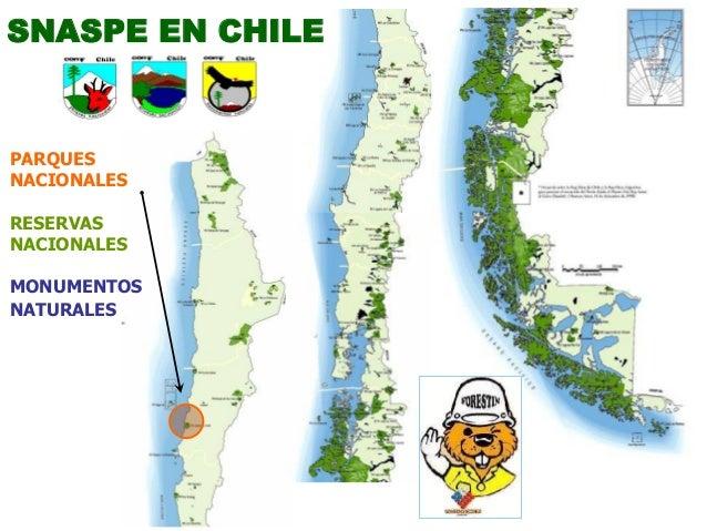 SNASPE EN CHILE PARQUES NACIONALES RESERVAS NACIONALES MONUMENTOS NATURALES